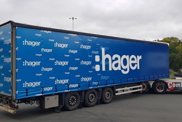 HAGER truck side curtain