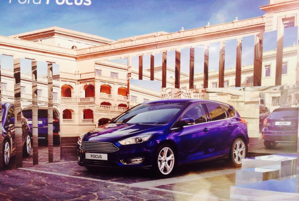 Ford Focus poster