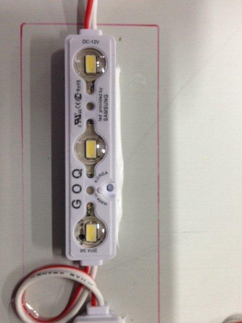LED sign assembling