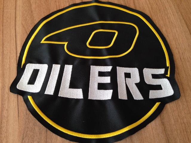 Oilers embroidered logo