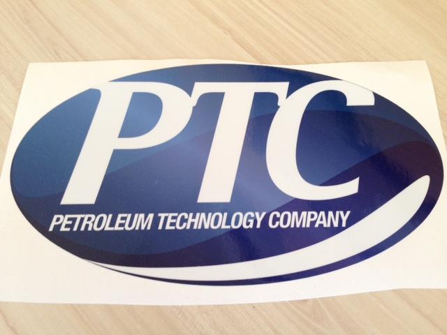Petroleum Technology Company sticker