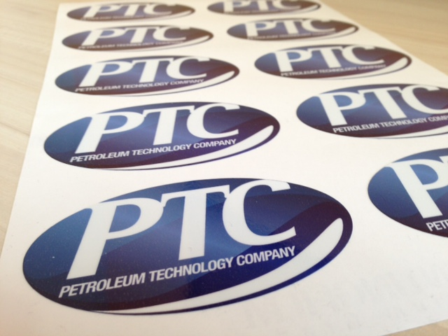 Petroleum Technology Company stickers