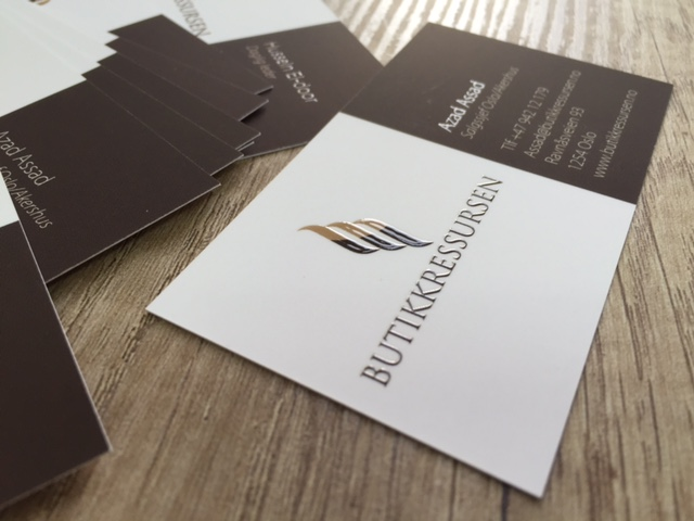 Butikkressursen business cards