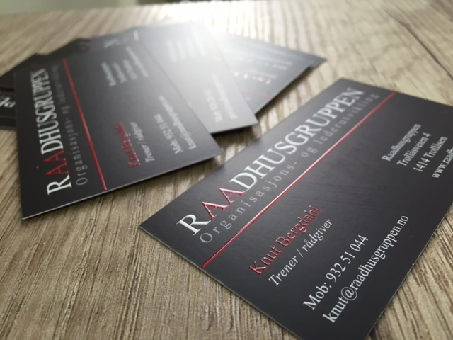Raadhusgruppen business cards