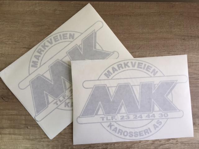 3M PVC foil, contour cutm application tape Size: 285 x  200 mm