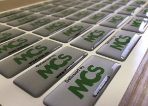 MCS doming stickers