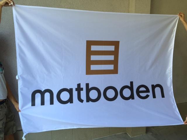 Matboden pole flags