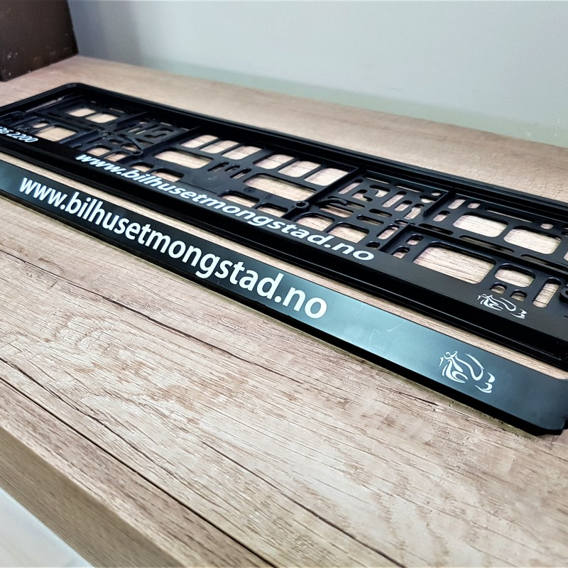 Bilhuset Mongstad license plates