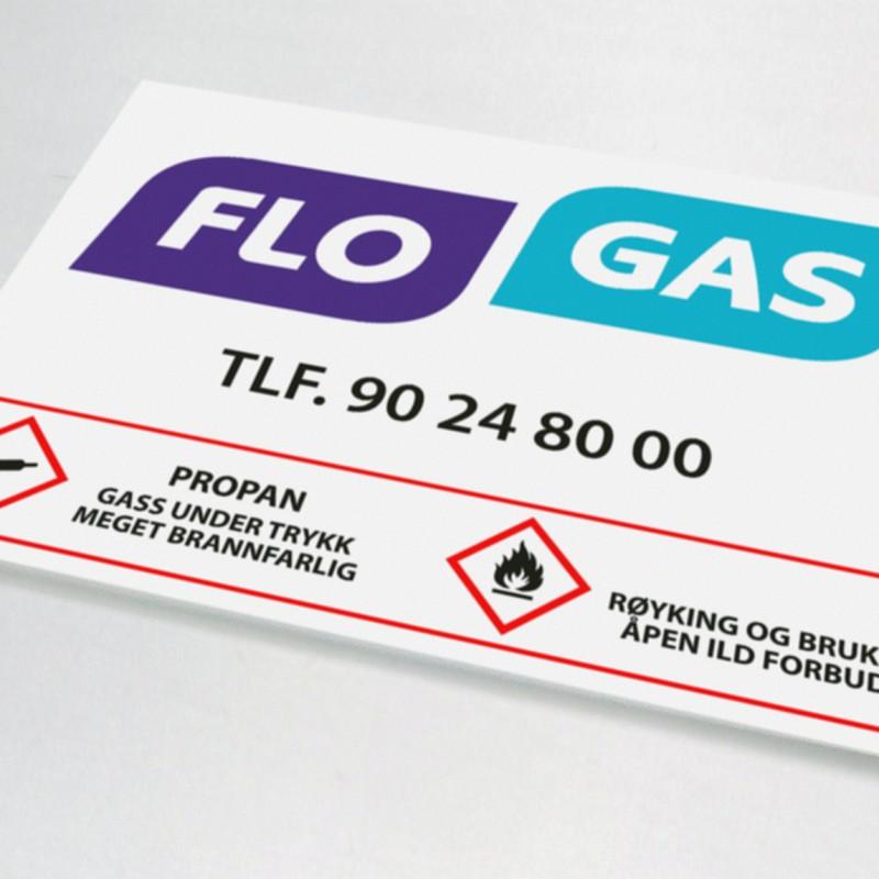 Flo Gas PVC plate