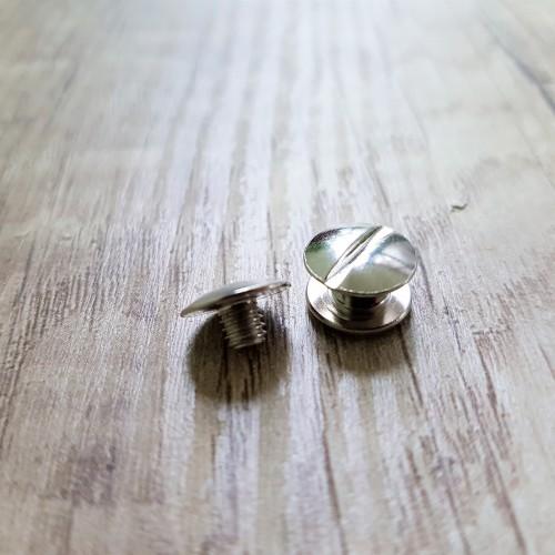 Nickel material, 4 mm screw thread, 5 mm body, 3.5 mm length.