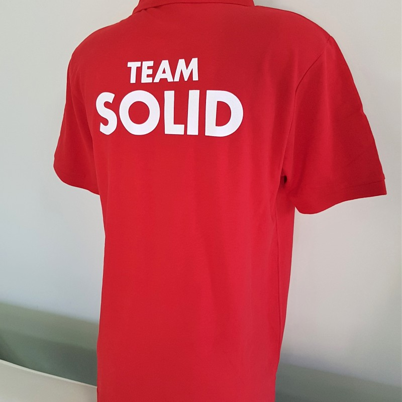 Team Solid polo shirts