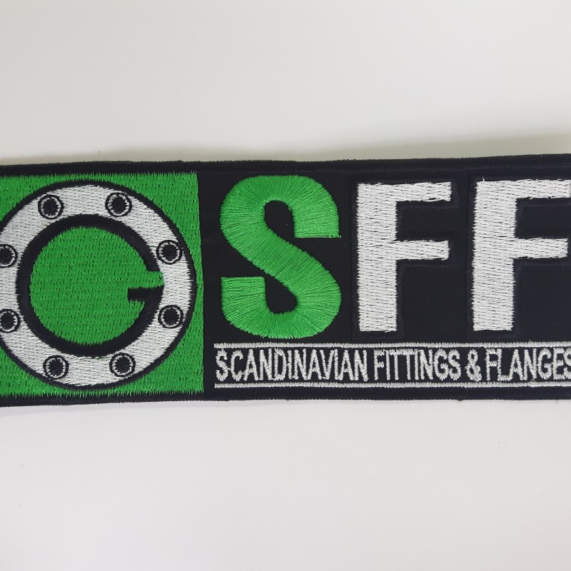 SFF embroidered logo