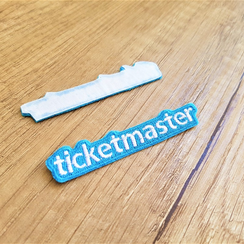 Ticketmaster embroidered logo
