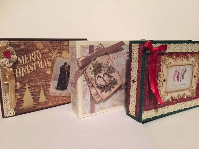 Christmas memory books