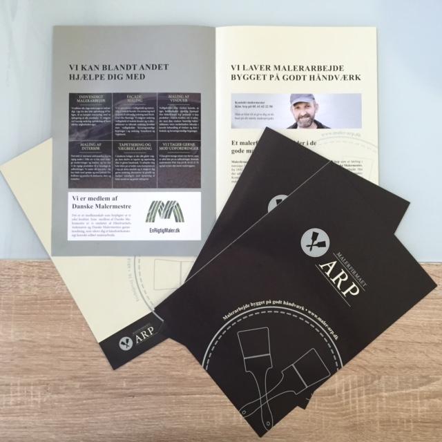170 gsm matt paper, 4 pages, print 4 + 4 offset Size: A4