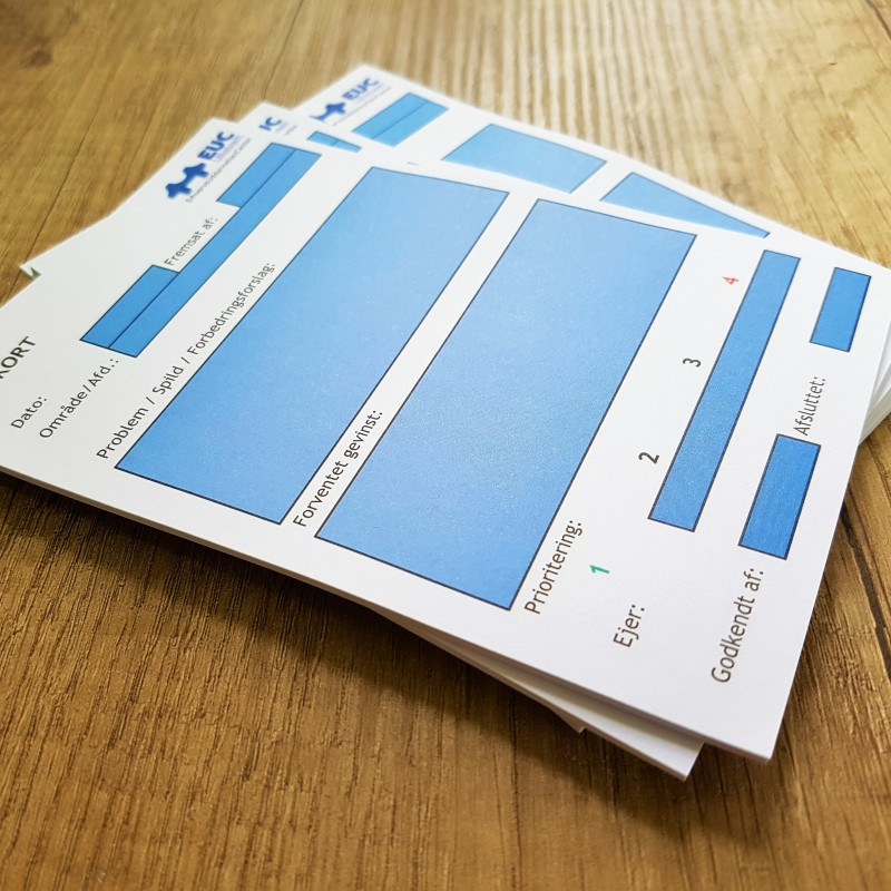 80 gsm uncoated paper, 15 sheets per block, glued on top side. Size: 10 x 15 cm