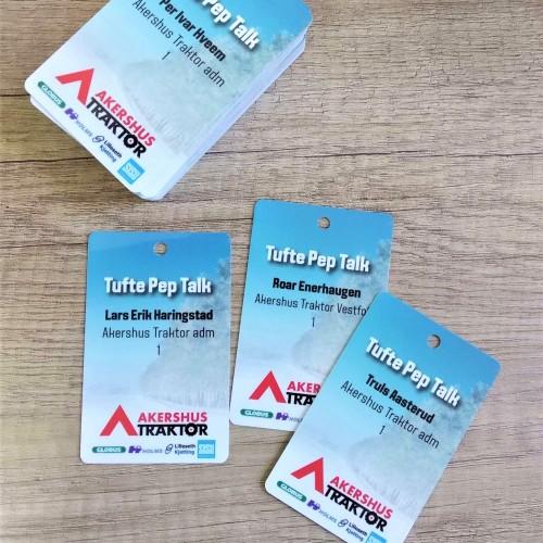Akershus pvc cards
