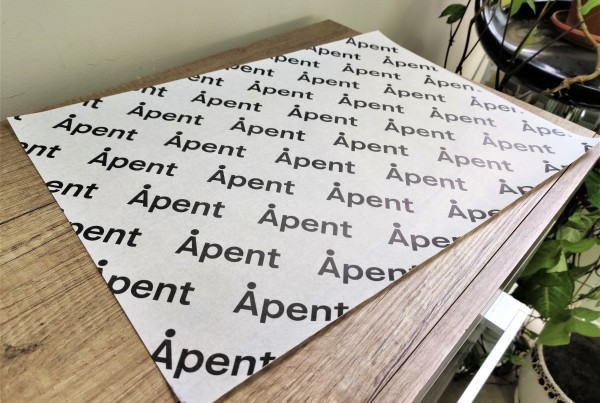Apent greaseproof sheets