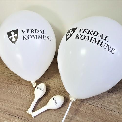 White latex, 1 color logo on 1 position. Size: Ø 30 cm