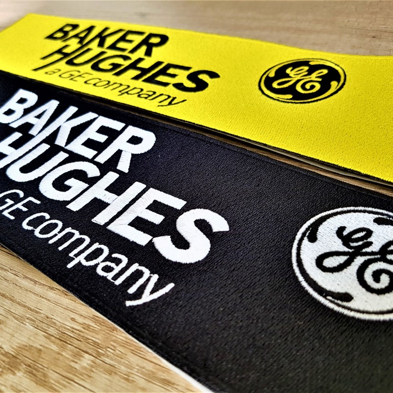 Baker Hughes embroidered logo