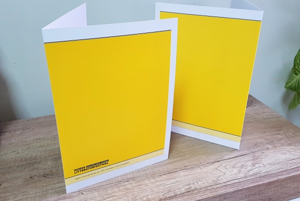 A4 size, 270 gsm packing cardboard, 4+0 CMYK print