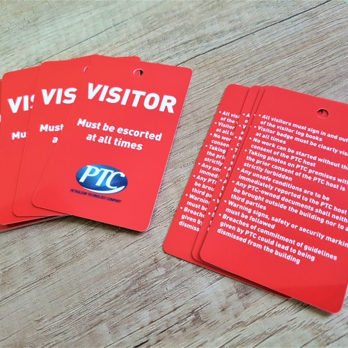 VISITOR loyalty PVC cards