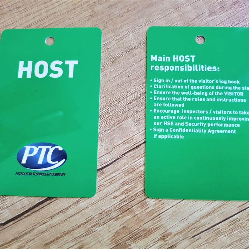 HOST loyalty PVC cards