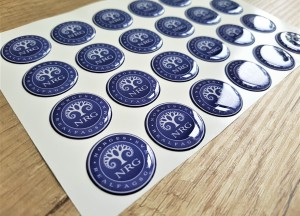 Ressurs doming stickers