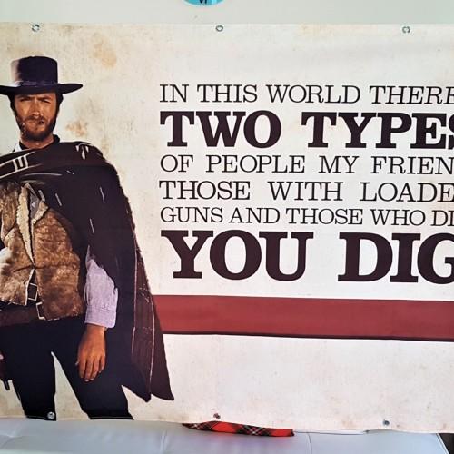 Cowboys textile banners