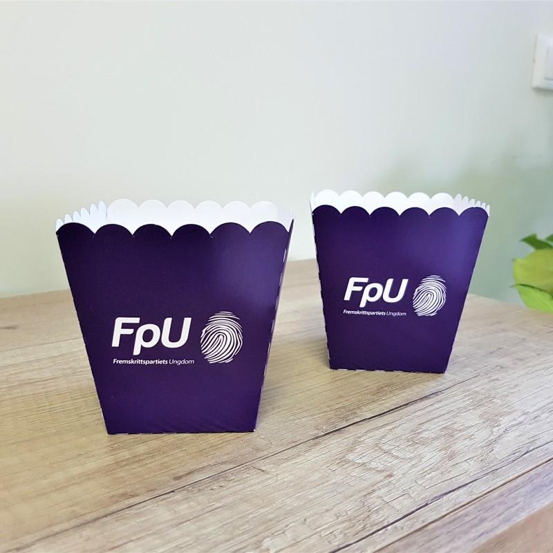 FpU popcorn boxes