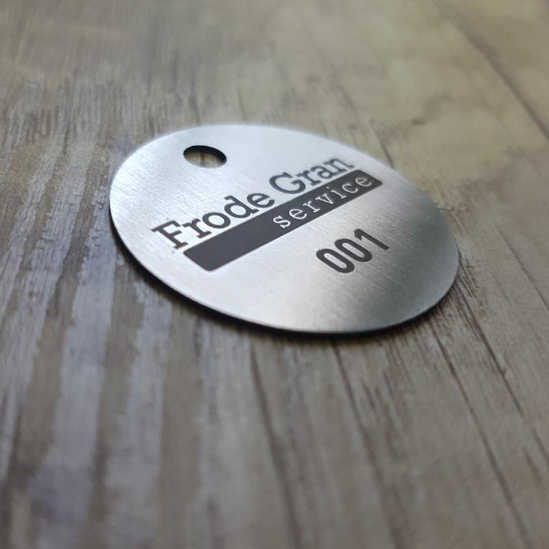 Frode Gran metal key holder