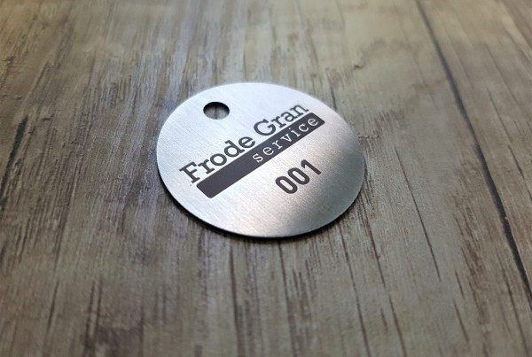 Frode Gran metal key holder