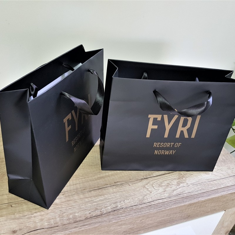 FYRI paper bags