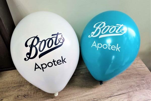 Boots Apotek balloons