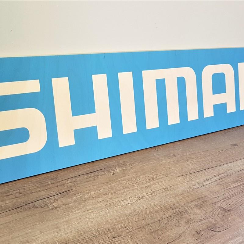 8 mm plywood, direct UV print, size: 1000 x 200 mm