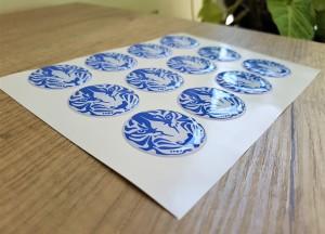 Tiger doming sticker