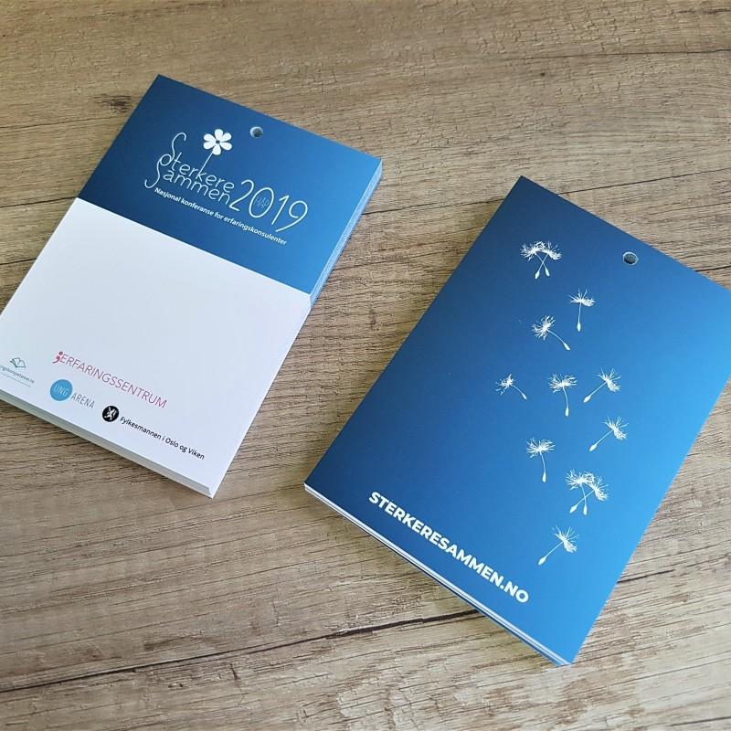 SterkereSammen leaflets