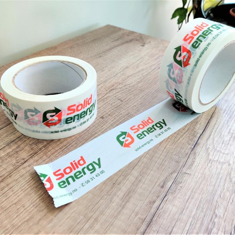 Solid Energy packaging tape