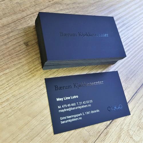Barum Kjokken business cards