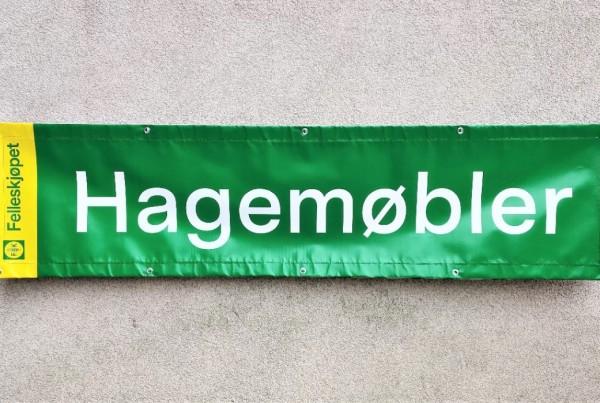 Hagemobler pvc banner