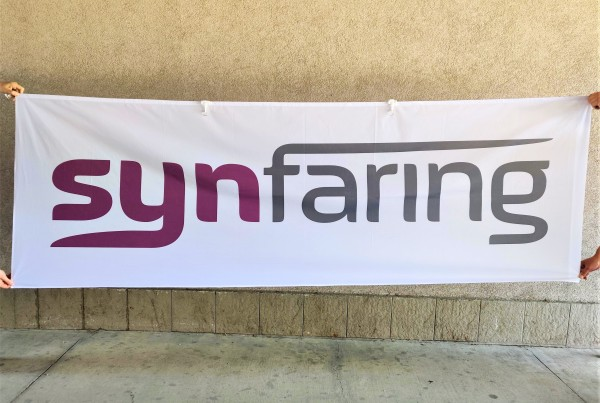 Synfaring pole flag