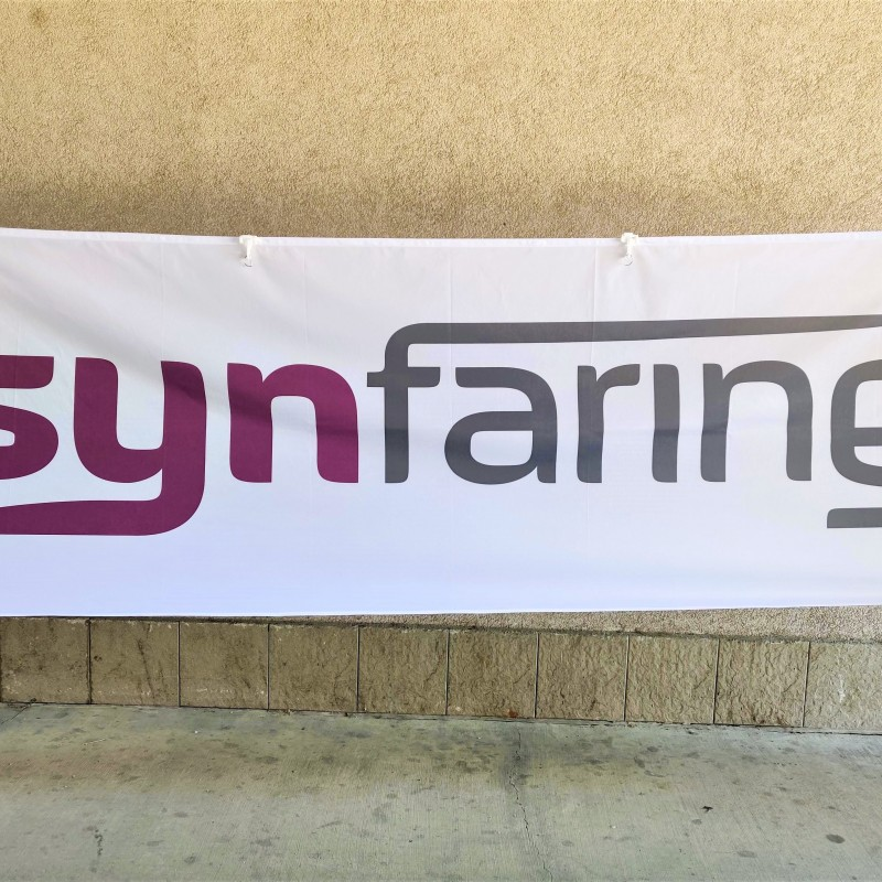 Synfaring pole flag