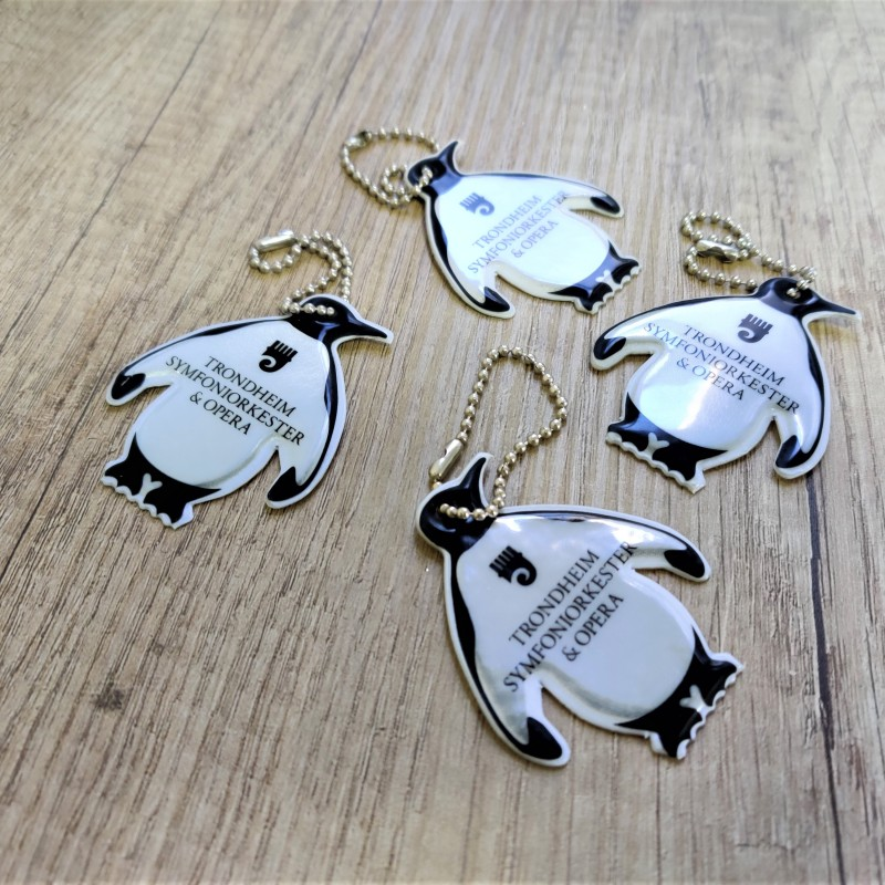 Reflective key holders