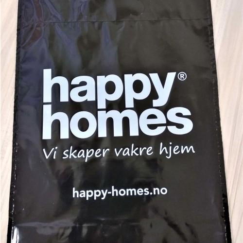 Happy Homes plastic bags