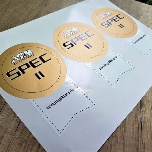 ASM pvc stickers