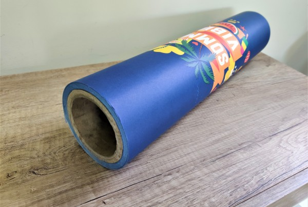 SUMMER VIBES wrapping paper