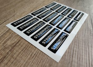 Strommes doming stickers