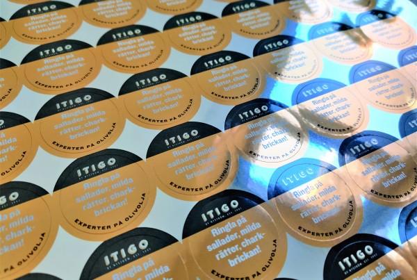 ITIGO pvc stickers