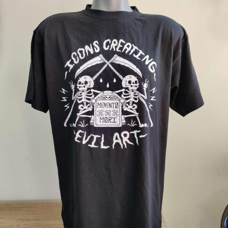 Icons Creating Evil Art T-shirt