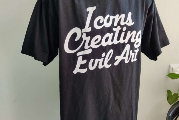Icons Creating Evil Art T-shirt